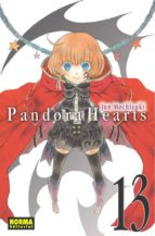 pandora hearts 13-jun mochizuki-9788467915105