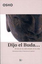 dijo el buda: el reto de las dificultades de la vida. disertacion es sobre el sutra de los 42 capitulos-9788472456105