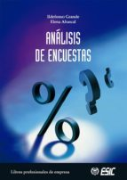 analisis de encuestas-elena abascal fernandez-ildefonso grande-9788473564205