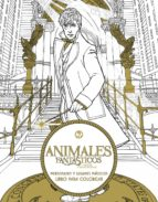 animales fantasticos y donde encontrarlos: personajes y lugares magicos. libro para colorear-9788491390305
