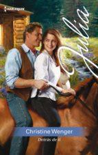 detrás de ti (ebook) christine wenger 9788491886105