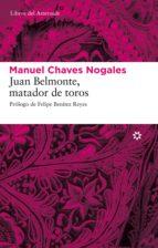 juan belmonte, matador de toros (ebook)-manuel chaves nogales-9788492663705