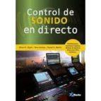 control de sonido en directo 9788494568305