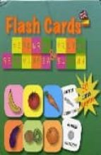 flash cards fruits and vegetables 9788495734105