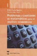 problemas y cuestiones de matematicas para el analisis economico susana lopez ares emilio costa reparaz 9788496062405