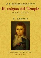 el enigma del temple (ed. facsimil) gaston lenotre 9788497614405