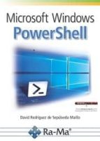microsoft windows powershell david rodriguez de sepulveda 9788499646305