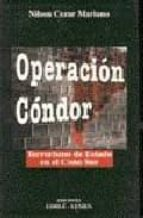 operacion condor: terrorismo de estado en el cono sur nilson cezar mariano 9789507247705