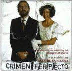 crimen ferpecto (b.s.o.) (ref. jbm2078) (cd) alex de la iglesia 8428353207815