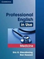 professional english in use: medicine-eric h. glendinning-9780521682015