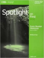 spotlight on first bre workbook w/okey + audio cd-9781285849515