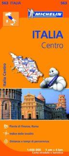 mapa regional italia centro-9782067184015