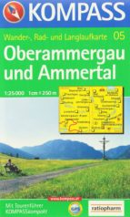 El libro de Kompass. oberammergau und ammertal (wander-, rad- und langlaufkarte) autor VV.AA. DOC!