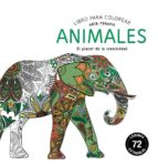 animales: libros para colorear. arte-terapia (compactos)-9788415618515