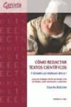 como redactar textos cientificos-orfelio g. leon-9788416228515