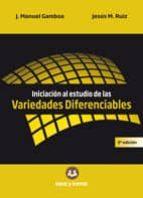 iniciacion al estudio de las variedades diferenciales 3ª edicion-jose manuel gamboa mutuberria-jesus maria ruiz sancho-9788416466115