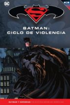 batman y superman   coleccion novelas graficas nº 24: batman: ciclo de violencia david finch gregg hurwitz 9788417063115
