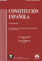 constitucion española comentada (6ª edicion 2018)-9788417135515