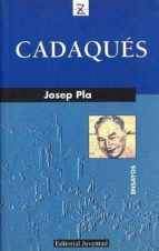 cadaques (2ª ed.) josep pla 9788426107015
