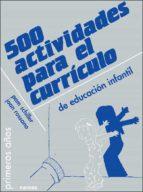 500 actividades para el curriculo de educacion infantil pam schiller 9788427710115