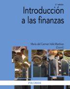 introduccion a las finanzas maria del carmen valls martinez 9788436831115