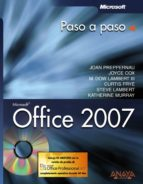 office 2007 (paso a paso) (incluye cd rom) 9788441522015