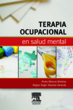 terapia ocupacional en salud mental pedro moruno miralles 9788445821015