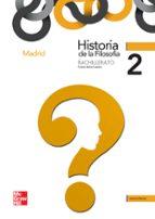 historia de la filosofia 2º bachillerato madrid 9788448183615