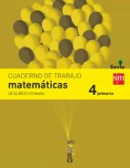 matemáticas 4º educacion primaria cuaderno 2º trimestre savia ed 2015-9788467578515