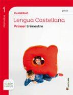 cuaderno 1 lengua pauta s hacer  1 primaria edicion 2014-9788468015415