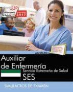 auxiliar de enfermeria: servicio extremeño de salud. simulacros de examen-9788468178615