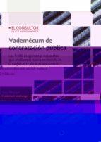 vademécum de contratación pública 2ª ed. jose manuel cantera cuartango 9788470527715