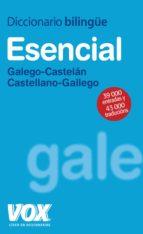 diccionario esencial galego castelan / castellano gallego vox 9788471538215