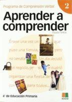 aprender a comprender nº 2-eduardo vidal-abarca gomez-9788472782815