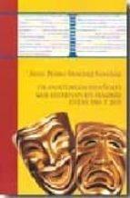 dramaturgos españoles que estrenan en madrid entre 1965 y 1975 (2 vols)-juan pedro sanchez sanchez-9788473927215