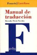 manual de traduccion frances castellano mercedes tricas preckler 9788474325515
