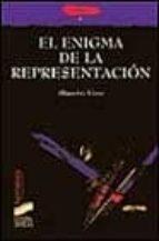 el enigma de la representacion alejandro llano 9788477386315