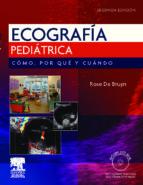 ecografia pediatrica. como, por que y cuando 9788480868815