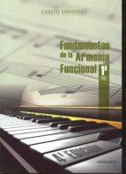 fundamentos de la armonía funcional 1ª parte-carlos santoys-9788484088615