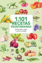 1101 recetas vegetarianas 9788490566015