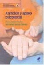 atencion y apoyo psicosocial llanos moratel mañas ana isabel garrido talavera 9788490773215
