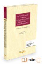 analisis del contrato de servicios. propuestas para garantizar la integridad en la contratacion publica-antonio luis fernandez mallol-9788490986615