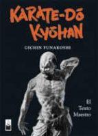 karate-do kyohan (ed. especial numerada)-gichin funakoshi-9788493784515