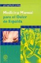 medicina manual para el dolor de espalda hernan silvan 9788495052315