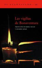 las vigilias de bonaventura 9788495359315