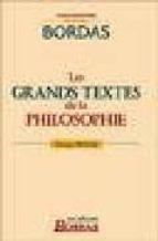 Descargue la Mac completa de libros de Google Les grands textes de la philosophie