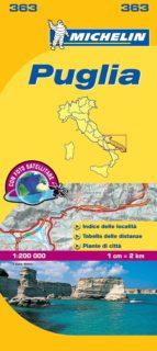 puglia e basilicata (mapas