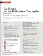 NRP LYCÉE - SÉQUENCE BAC PRO 1RE - LA SIRÈNE OU LES DÉCLINAISONS DUN MYTHE - NOVEMBRE 2010 (FORMAT P