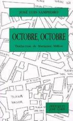 octobre, octobre jose luis sampedro 9782714306425