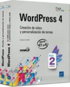 wordpress 4: pack de libros: creacion de sitios y personalizacion de temas christophe aubry 9782746099425